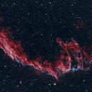 Eastern Veil Nebula - NGC 6992,                                Daniel Caracache