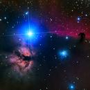 Horsehead Nebula NBRGB,                                Eric Cauble
