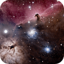 Flame Nebula and B33,                                Tim