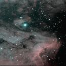 part of N america & pelican nebula,                                Ricardo snauwaert