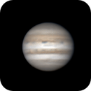 Jupiter and moons 16.02.2017 animation,                                SwissCheese