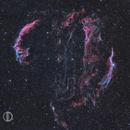 Veil Nebula Widefield,                                David Dvali