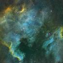 NGC 7000 and IC 5070,                                Edward Overstreet
