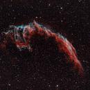 NGC 6995/6992 - Eastern Veil Nebula,                                Alan Mason