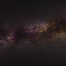 Greater Cygnus Region - Widefield 5-panel Mosaic,                                David McGarvey