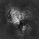 M 17, Omega Nebula [Swan Nebula] Ha3.5,                                Stephen Garretson