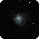 M101 - The Pinwheel Galaxy,                                Tanguy Dietrich
