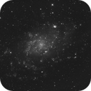Messier 33 in hydrogen alpha light,                                Dean Jacobsen