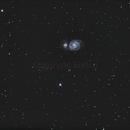 M51 Whirlpool Galaxie,                                Enrico