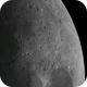 North Eastern Lunar Surface of the 6d old Moon in Colour,                                Niall MacNeill