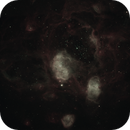 "NGC 1769 region in Ha/Oiii with MetaGuide and OAG at 0.4"" per pixel, EdgeHD11 f/7,                                Freestar8n"