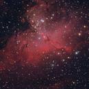 Eagle Nebula M16,                                 Skopje Astronomical Society