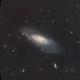 Messier 106 in HaLRGB,                                Ryan Fraser
