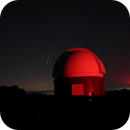 Comet Neowise  in Observatory,                                rémi delalande