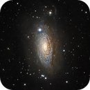 M63 - Sunflower galaxy,                                Almos Balasi