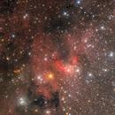 Cave nebula wide field,                                Steed Yu
