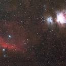 Orion & horsehead nebula,                                Winson Tsai