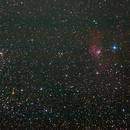 NGC 7635 и  M52,                                Дмитрий