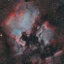 North America and Pelican nebulae - LHORGB,                                Alessio Pariani
