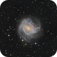 M83: The southern pinwheel.,                                Andrew Lockwood