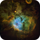 NGC2467 Close-up in HST,                                John Ebersole