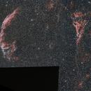 NGC 6960-NGC 6992 - dentelle du cygne,                                astromat89