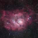 M8 Lagoon Nebula,                                Yu-Peng Chan