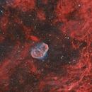 Crescent & Soap Bubble Nebula,                                psemil