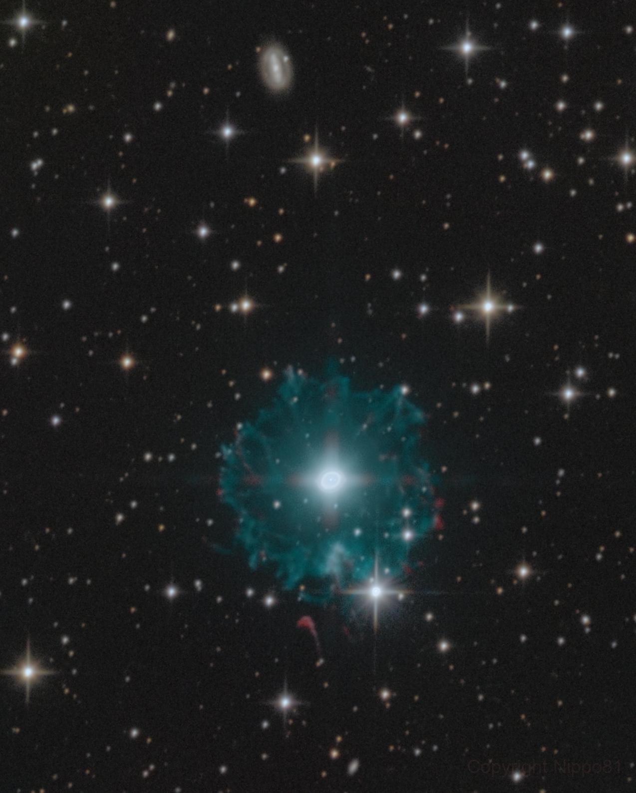 "Cat's Eye Nebula  with 8"",                                Nippo81"