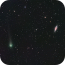 Comet C/2017 PANSTARRS and galaxies M 81 and M 82,                                José J. Chambó