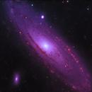 M31 Narrowband,                                Alex Gorbachev