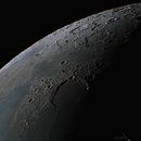 Head North from Sinus Iridum (24% Waning Crescent),                                Todd