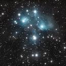 M45 Pleïades,                                SicIturAdAstra