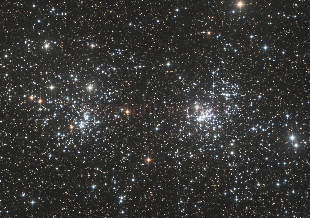 Double Star Cluster,                                Paul May