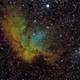 NGC 7380 - Wizard Nebula,                                David Andra