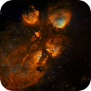 NGC 6334 - The Cat's Paw Nebula in Narrowband HST palette,                                rat156