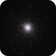 M13 - Great Globular Cluster in Hercules,                                stricnine