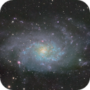 M33 The Triangulum Galaxy,                                Peter Webster