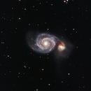 M51 - Whirlpool Galaxy - Crop,                                Greg Polanski