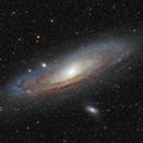 M31 LRGB 61EDPH,                                Le Mouellic Guillaume
