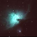 M42 Orion Nebula - UHC filter,                                Adel Kildeev