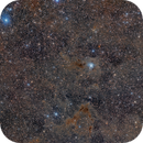 Wide Field - Ghost Nebula, Iris Nebula and LBN 468 in Cepheus,                                Alberto Pisabarro