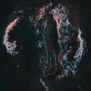 The Dark Mark- Cygnus Loop Starless Sh2-103,                                Kristi Kuenstler