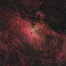 Messier 16 in RGB,                                Fabian Rodriguez...