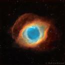 Helix Nebula / NGC 7293,                                Bob Lockwood