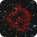 Abell 45 Wagon Wheel Planetary Nebula,                                Jerry Macon
