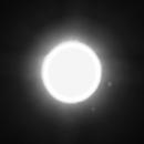 Mars with moons Phobos & Deimos,                                Dale Hollenbaugh
