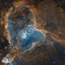 Heart Nebula (IC1805),                                JMDean