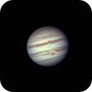 Jupiter animation w/GRS,                                Steve