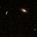 M 81, M 82, NGC 3077 With Supernova 2014J (PSN J09554214+6940260),                                John